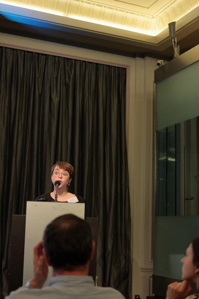 """Marie Baurins, rapporteuse atelier """"Comment bien communiquer en ligne et hors ligne"""""""